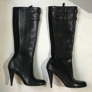 Cole Hann Air Jalisa Tall Boot - Black - NEW